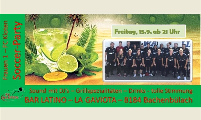 Frauen 1 Soccer Party!